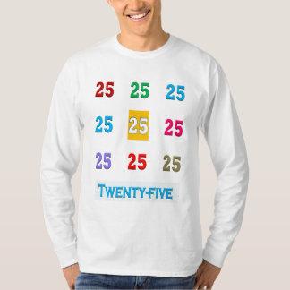25th 25 Twentyfifth Birthday Anniversary GIFTS xxv Tee Shirt