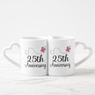 25th Anniversary Couples Mugs