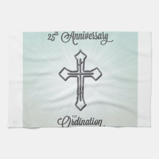 25th Anniversary of Ordination, Pillow Tea Towel