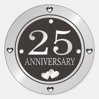 25th Anniversary Stickers