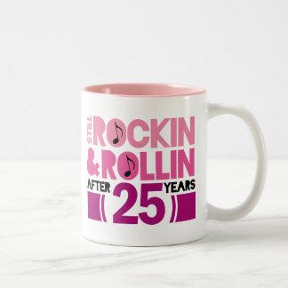 25th Anniversary Wedding Gift Mugs