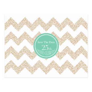 25th Birthday Party - Save the Date - Choose Color Postcard