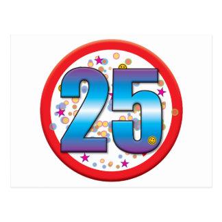 25th Birthday v2 Post Cards