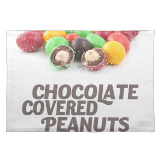 25th February - Chocolate-Covered Peanuts Day Placemat