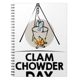25th February - Clam Chowder Day Notebook