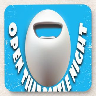 25th February - Open That Bottle Night Beverage Coasters