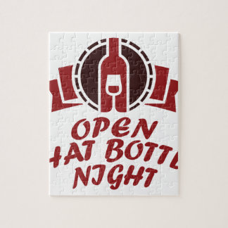25th February - Open That Bottle Night Jigsaw Puzzle