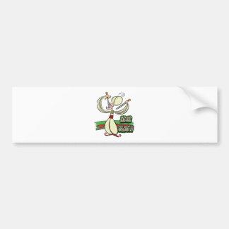 25th February - World Sword Swallower's Day Bumper Sticker