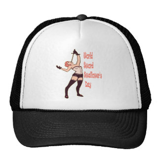 25th February - World Sword Swallower's Day Cap