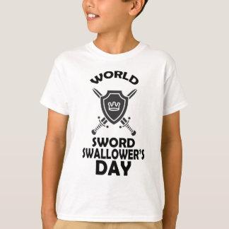 25th February - World Sword Swallower's Day T-Shirt