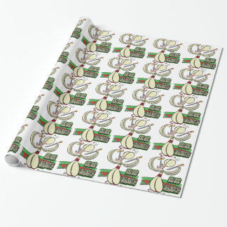25th February - World Sword Swallower's Day Wrapping Paper