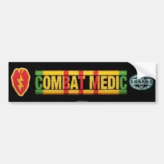 25th Inf. Div. Vietnam COMBAT MEDIC Sticker Bumper Sticker