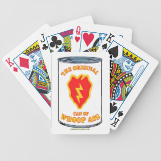 25TH INFANTRY CAN OF WHOOP a** Bicycle Playing Cards