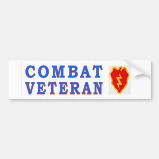 25th INFANTRY DIVISION Bumper Sticker