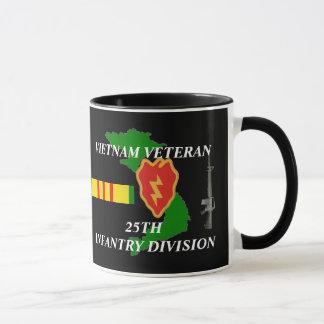 25th Infantry Division Vietnam Veteran Coffee Mugs