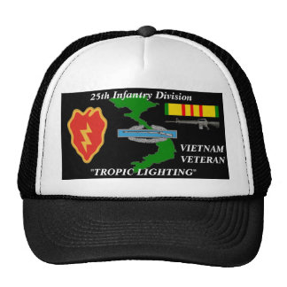 "25th Infantry Divison"" Tropical Ligthing"" Ball Cap"