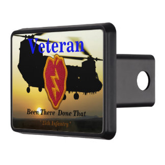25th infantry vietnam nam veterans vets patch hitch covers