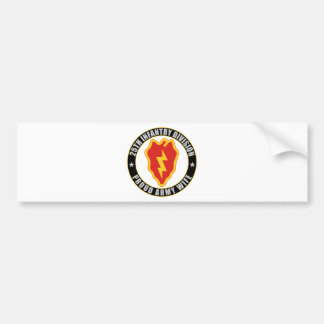 25th Infantry Wife Bumper Stickers