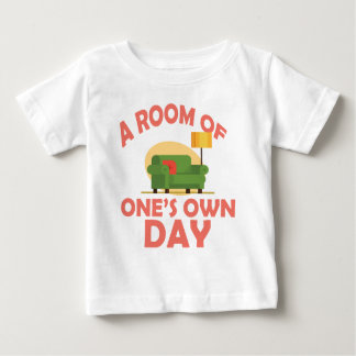 25th January - A Room Of One's Own Day Baby T-Shirt