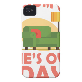25th January - A Room Of One's Own Day Case-Mate iPhone 4 Case