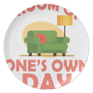 25th January - A Room Of One's Own Day Party Plate
