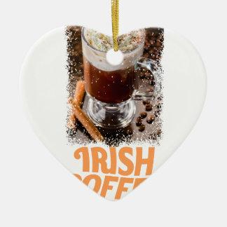 25th January - Irish Coffee Day Ceramic Ornament