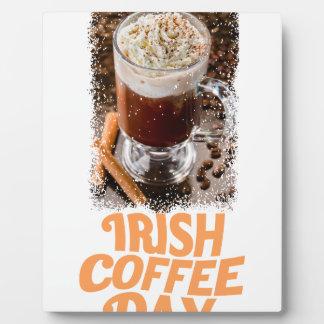 25th January - Irish Coffee Day Plaque