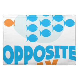 25th January - Opposite Day Placemat