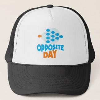 25th January - Opposite Day Trucker Hat