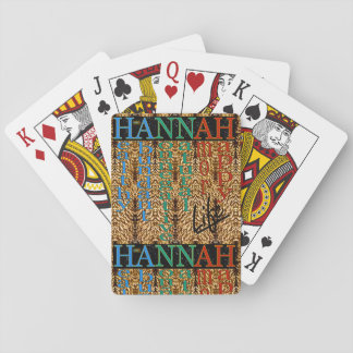 25th Quote; HANNAH Life Playing Cards