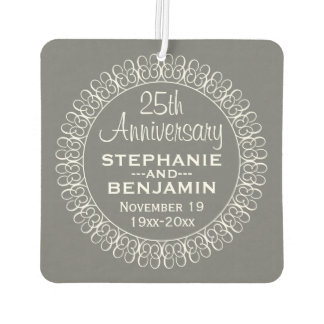 25th Wedding Anniversary Personalized