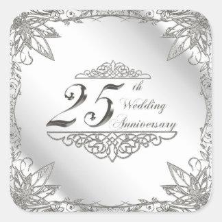 25th Wedding Anniversary Stickers