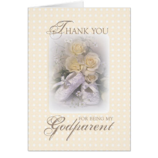 2629 Thank You Godparent Card