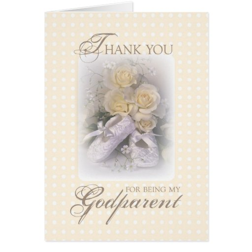 2629 Thank You Godparent Greeting Cards