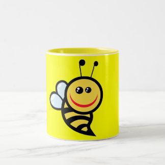 2654-Royalty-Free-Little-Bee-Cartoon-Character CUT Coffee Mugs