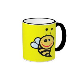2654-Royalty-Free-Little-Bee-Cartoon-Character CUT Mugs