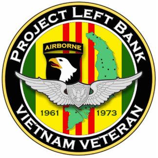 265th RRC - A PLB 2 - ASA Vietnam Standing Photo Sculpture