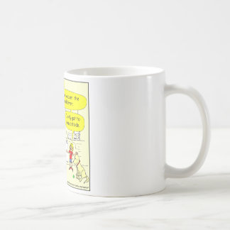 268 Mom! It is not fair! Cartoon Coffee Mug