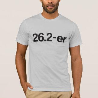 26.2-er © or Marathoner - Funny Marathon Runners T-Shirt