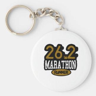 26.2 Marathon Runner Key Chain