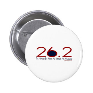 26.2 The Number 6 Cm Round Badge