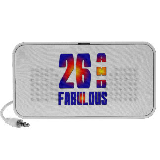 26 And Fabulous Portable Speakers