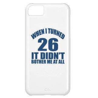 26 Birthday Designs iPhone 5C Case