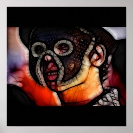 26 - Penumbra Mask Poster
