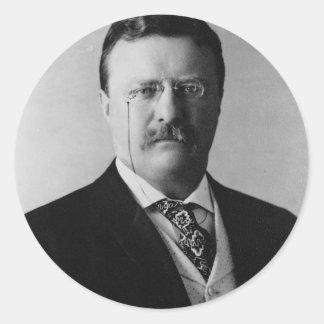 26 Theodore Roosevelt Classic Round Sticker