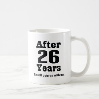26th Wedding Anniversary Gift For Husband : Funny Anniversary GiftsT-Shirts, Art, Posters & Other Gift Ideas ...