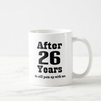 26th Anniversary (Funny) Basic White Mug