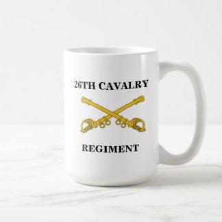 26th Cavalry Regiment Mug