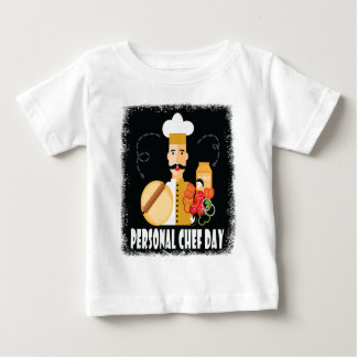 26th February - Personal Chef Day Baby T-Shirt