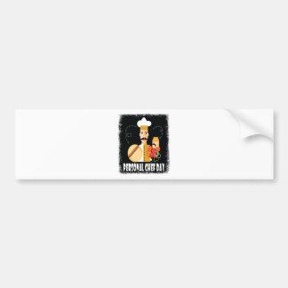 26th February - Personal Chef Day Bumper Sticker